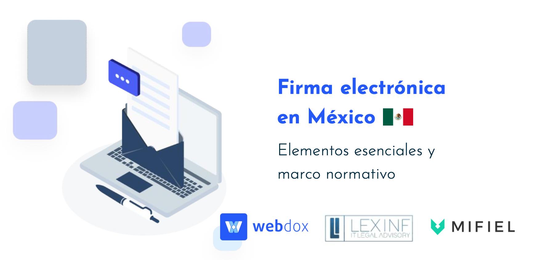 Conversatorio sobre la firma electrónica en México